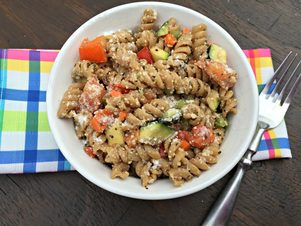 Italian Vegetable Pasta Salad