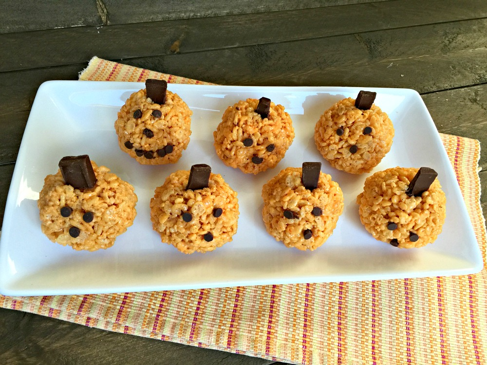 Seasonal Halloween Rice Krispie Treats Recipes